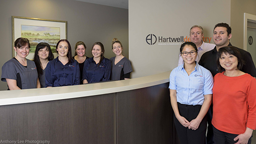 hartwell-dentistry-team-photo
