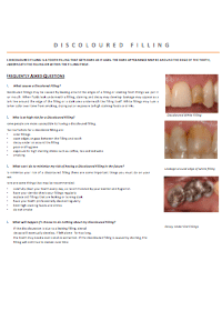 dentist-camberwell-info-Discoloured Filling