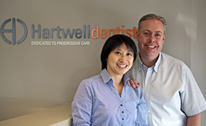 Dr Matthew Fleming and Dr Dana Horng of Hartwell Dentist in Camberwell