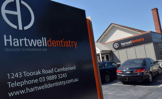 Parking is easy at Hartwell Dentist Camberwell